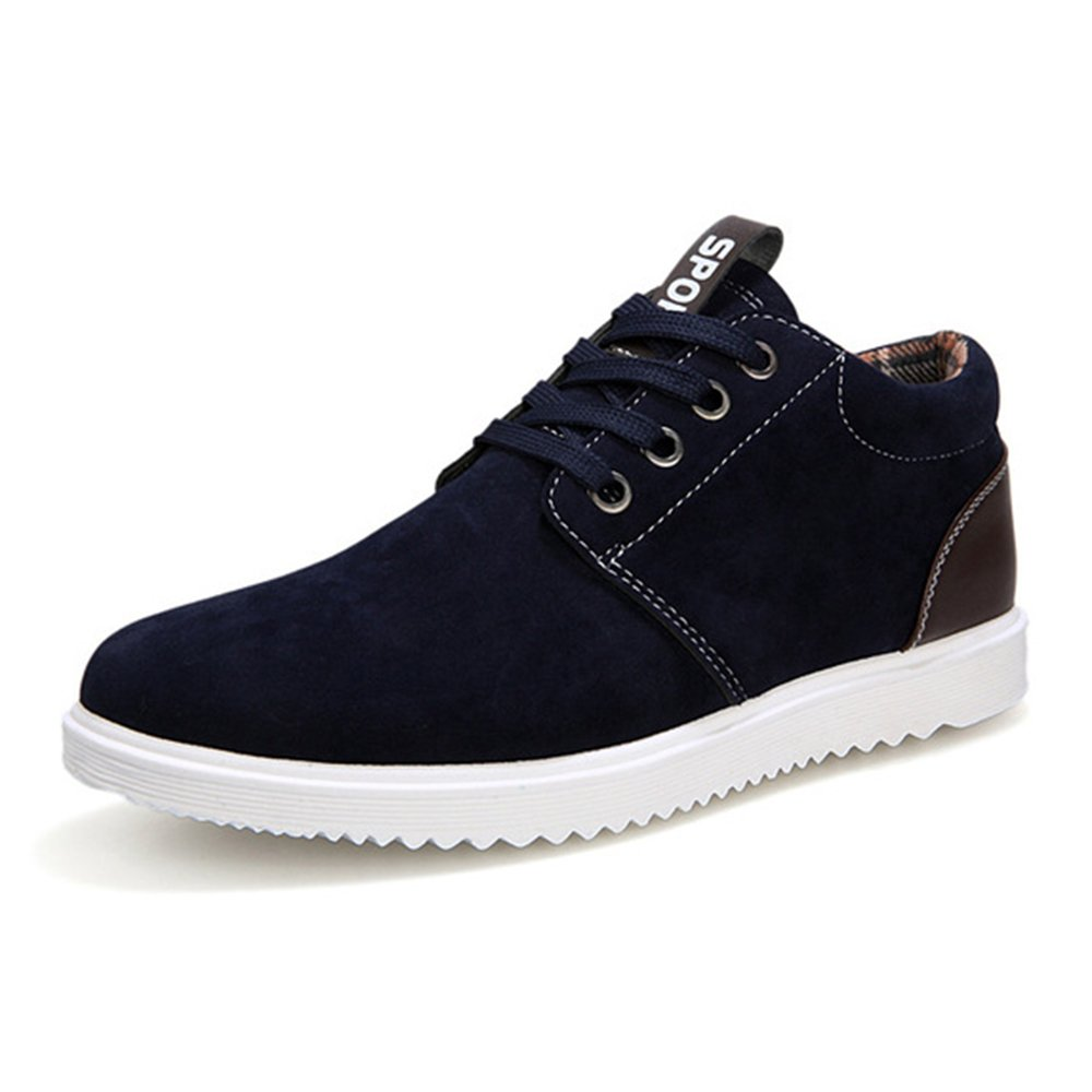 AARDIMI Herren Sneakers Fruuml;hling und Herbst Herren Freizeitschuhe Freizeit Winter Pluuml;sch Fuuml;r Mauml;nner Schuhe Plus Brish Fashion Trend  42 EU|Schwarz
