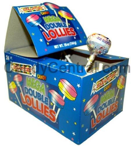 Smarties Mega Double Lollies (24 Ct) by Ce De