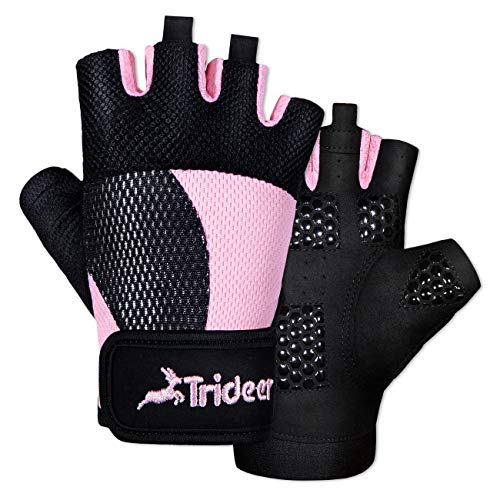 Trideer Breathable Workout Gloves
