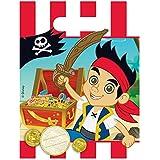 Elegant Jake Und Die Nimmerland Piraten 6 Geschenktüten