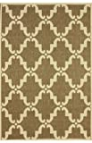 Cheap nuLOOM Dawn Collection Contemporary Outdoor Machine Made Area Rug, 7-Feet 10-Inch by 10-Feet 10-Inch, Taupe