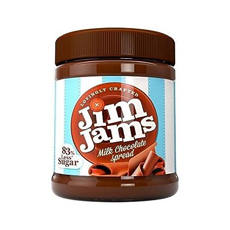 Jimjams 83% Menos De Azúcar De La Leche Crema De Chocolate 350G - Paquete de 6: Amazon.es: Alimentación y bebidas