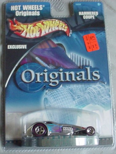 Hot Wheels Originals Exclusive Hammered Coupe SILVER -  Mattel