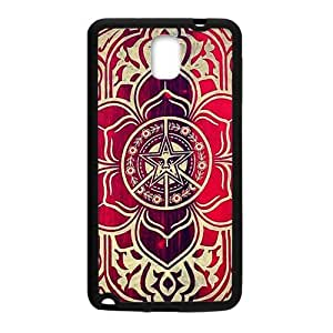 peace and justice obey Red star flowers Cell Phone Case for Samsung Galaxy Note3