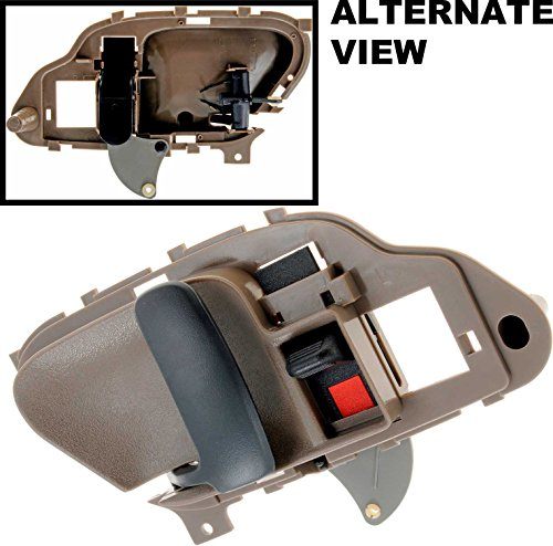 APDTY 88681 Interior Door Handle Brown Front or Rear Left (Driver Side) Fits 1999-2000 Cadillac Escalade / 1995-2000 Chevrolet or GMC C/K 1500 2500 3500 Pickup / 1995-1999 Chevrolet or GMC Suburban / 1995-2000 Chevrolet Tahoe / 1995-2000 GMC Yukon - 1998 Chevrolet 3500 Pickup