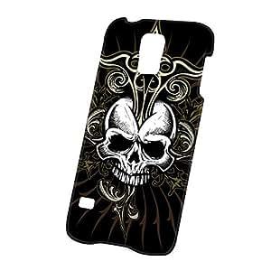 Case Fun Samsung Galaxy S5 (i9600) Case - Ultra Slim Version Black Skull