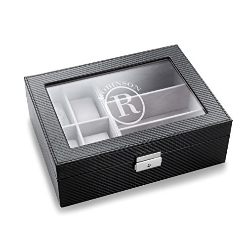 - A Gift Personalized Men's Watch Display and Sunglass Display Box