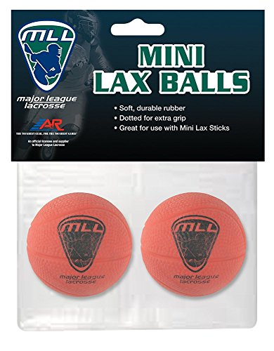 A&R Sports Major League Lacrosse Mini Lax Balls (Pack of 2)