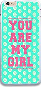 Iphone Case,Iphone 6 Plus Hard Case NEW of fashionable Unique another Design christian there quotes you are my girt some