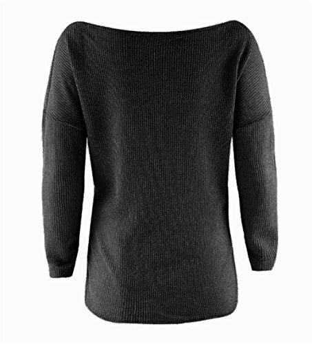 Casual D Tricot Lonly en Pull Femme Sexy hero wc6RR1Cn7