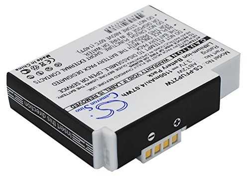 Replacement Battery for Cisco Flip Ultra HD, Flip Video, Flip Video UltraHD 8GB, FlipVideo, U3120, U32120, U32120B, U32120W