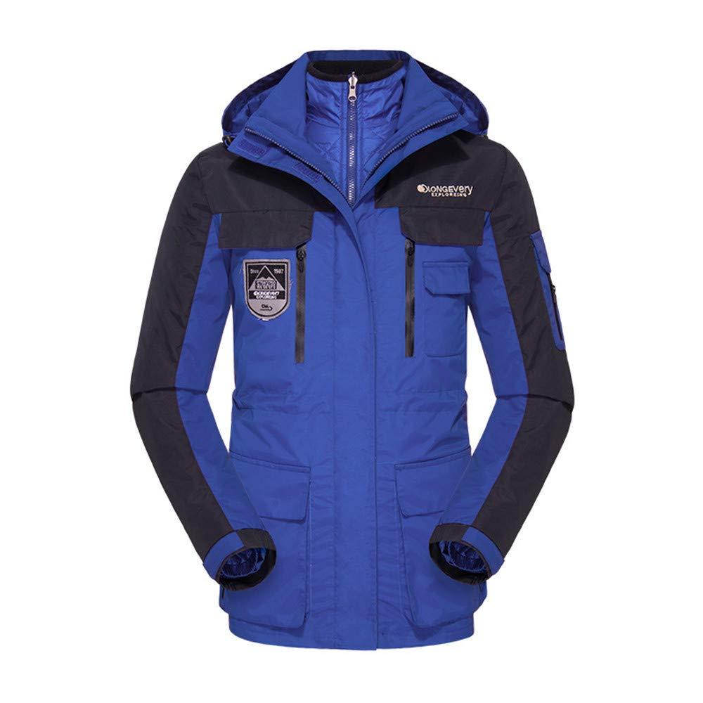 AiNaMei Winddichte warme Bergsportkleidung für Herren