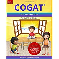 COGAT Test Prep Grade 5 Level 11: Gifted and Talented Test Preparation Book - Practice Test/Workbook for Children in…