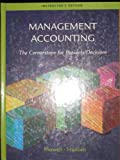 Ie Management Accounting, Mowen and Hansen, 0324305761