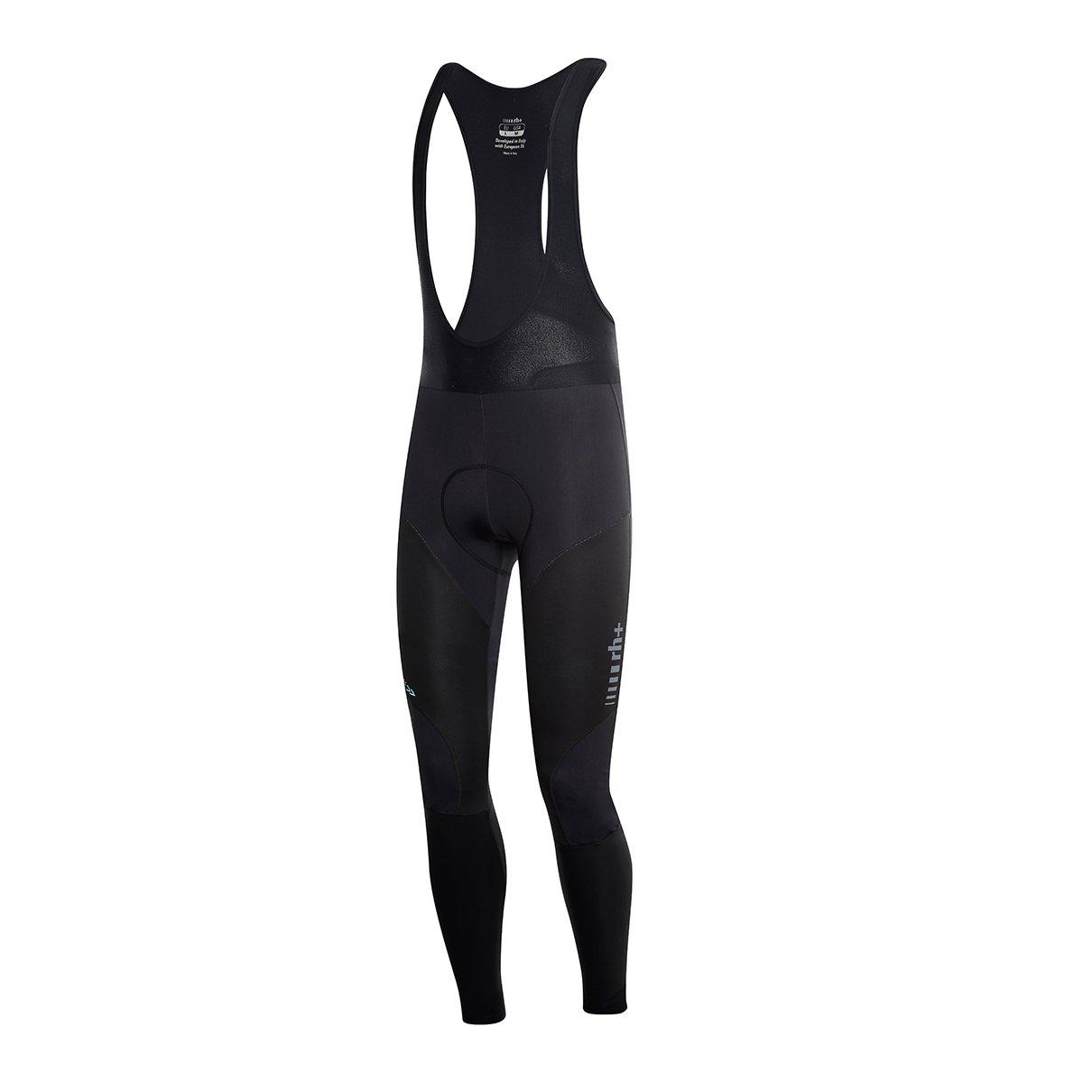 RH + Shark Bibtights, Pantalones (Ciclismo) Hombre, Black, XL rh+ ICU0425 900XL