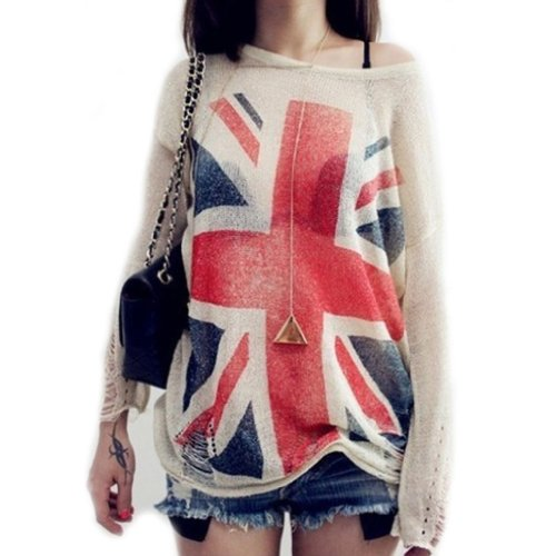 UK-Flag-hollow-Out-Loose-Knitting-Sweaters-Pullover