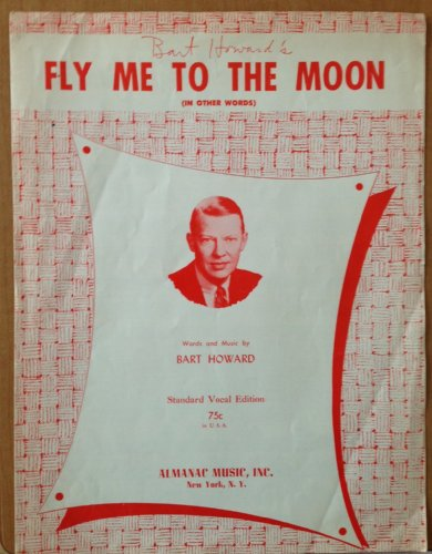 Fly Me To the Moon. Sheet Music (Fly Me To The Moon Sheet Music)