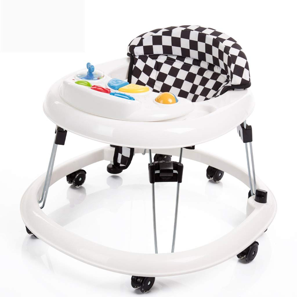 Baby Walker,First Steps with Activity Tray,Lights and Music Toy and Activity Walker by Moolo