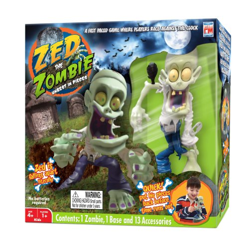 Free Zed The Zombie Unrest in Peace Game Set