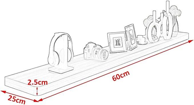 YYHSND Mueble for TV Estante for TV Estante for televisor Estante for TV Consola de Almacenamiento Estante for Almacenamiento DVD for Cable Caja for Pared Flotante Estante de Montaje en Pared: Amazon.es:
