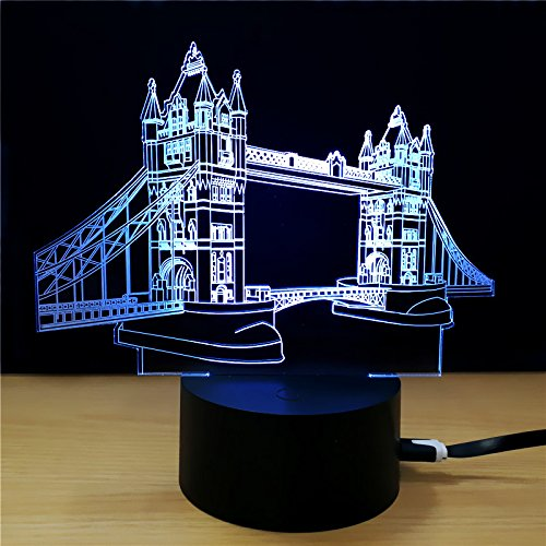 3D LED For Kids and Adults Famous Movie Shooting Location Tourist Attraction (London Bridge)