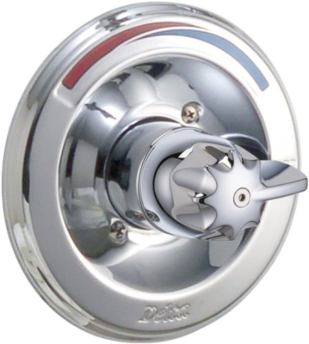 13 Series Chrome Trim Valve - Delta Faucet T13090 Classic MonitorR 13 Series Valve Trim Only, Chrome