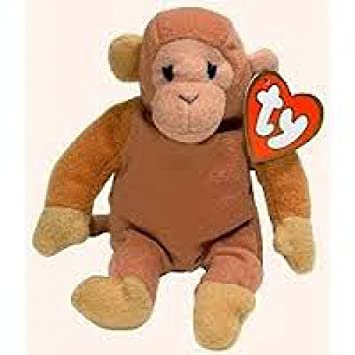 Bongo the Monkey Mcdonalds Happy Meal Ty Teenie Beanies Ty Beanie Babies by Beanies