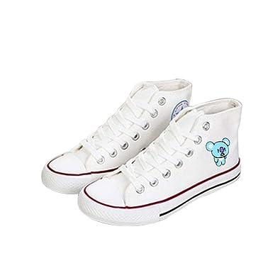 Zapatos BTS Zapatos clásicos de Lona de Alta Gama/Zapatos de ...