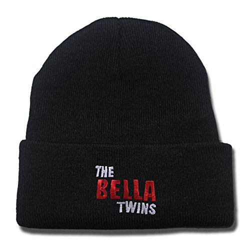 The Bella Twins Logo Beanie Fashion Unisex Embroidery Beanies Skullies Knitted Hats Skull Caps