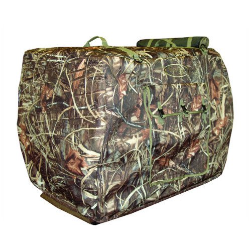 Mudriver Ducks Unlimited 18352 Insulated Kennel Cover, Realtree Max, Large