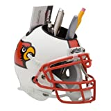 NCAA Louisville Cardinals Mini Helmet Desk Caddy by Schutt