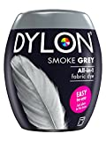 DYLON Machine Dye Pod, easy-to-use fabric colour for laundry, 350g (Smoke Grey)