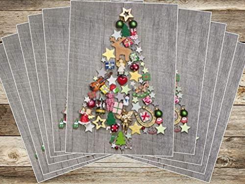 10 tarjetas de Navidad