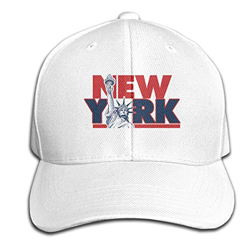 MZ-HY New York City and Statue of Liberty USA Casual Baseball Hat Fashion Dad Cap Adjustable for Running Workouts Trucker Cap]()