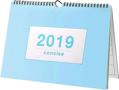 Julio 2018-Diciembre 2019 Calendarios de Pared,Dokpav Calendario ...