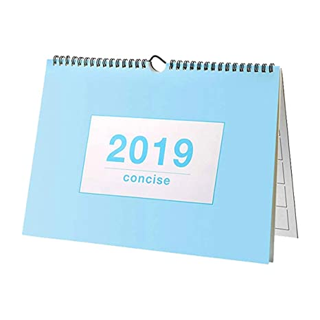 Calendario Mese Dicembre 2019.Luglio 2018 Dicembre 2019 Calendario Da Tavolo Mensile