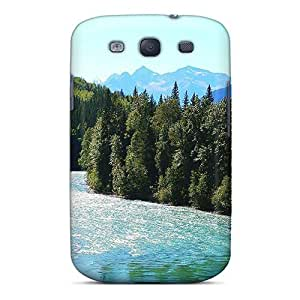 Galaxy S3 Case Slim [ultra Fit] Fraser River Mount Robson Provincial Park Protective Case Cover