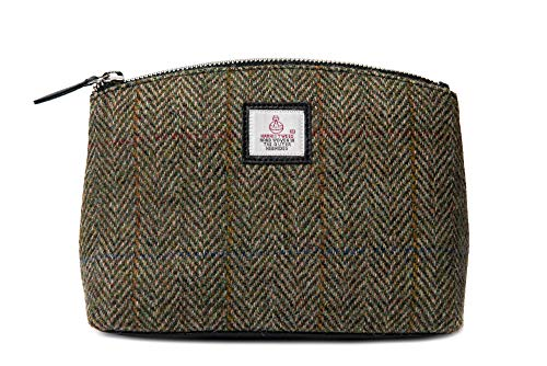 Ladies Bag Country Cosmetic Country Green Harris Tweed Green RxqpvwS1C
