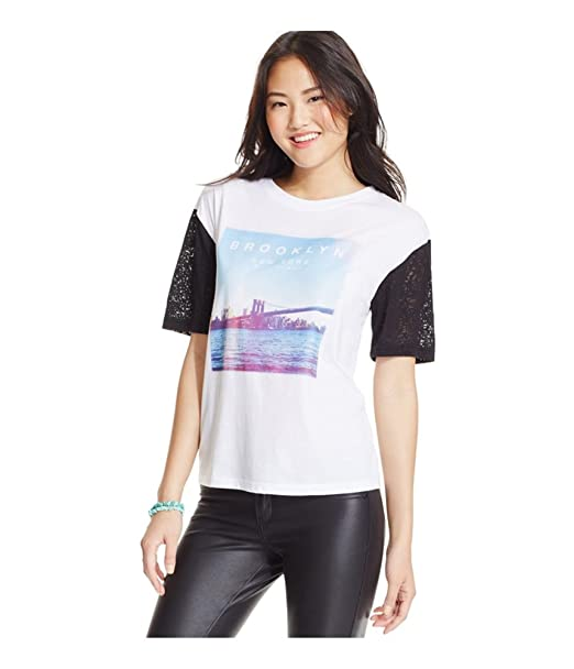 8a9d87ab2 Amazon.com: 2kuhl Womens Burnout Brooklyn Graphic T-Shirt whiteblack ...