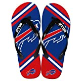 Buffalo Bills 2013 Official NFL Unisex Flip Flop Beach Shoes Sandals slippers size Large