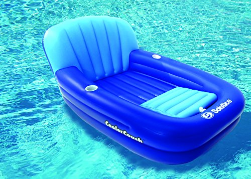 Solstice cooler couch inflatable pool lounger new ebay for Coole couch