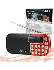 ROXY RXY-2020 RADYO MUSIC PLAYER FM*SD*USB (18650 LİTYUM PİLLİ*ŞARJLI)