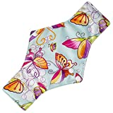 Buyeverything Cartoon Bamboo Cotton Reusable Sanitary Napkins Pads Cloth Menstrual Pads Long Washable Menstrual Towel Pad for Women Girls (D)