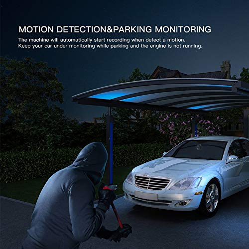 APEMAN Full Mini Car Driving Angle, Motion Detection, Loop Night