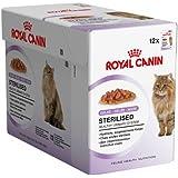 ROYAL CANIN Sterilised Comida Gatos - Paquete DE 12 x 85 gr - Total: 1020