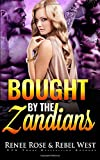 Bought by the Zandians: Alien Warrior Reverse Harem Romance (Zandian Brides)