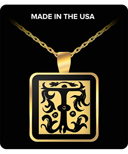 initial-necklace-monogram-letter-t-gold-chain-square-pendant-for-men-and-woman