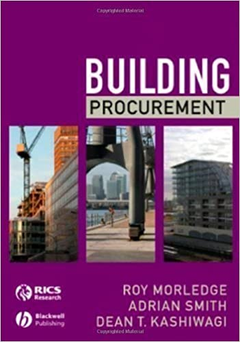 Book Building Procurement 1st (first) Edition by Morledge, Roy, Smith, Adrian, Kashiwagi, Dean T. published by Wiley-Blackwell (2006)