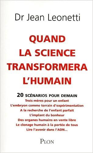 Lire Quand la science transformera l'humain epub, pdf