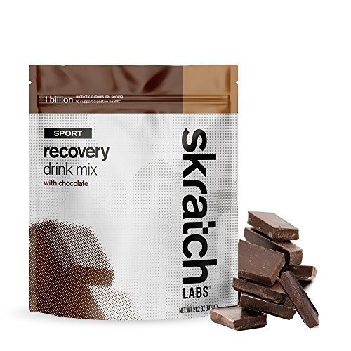 Skratch Labs: NEW Sport Recovery Drink Mix with Chocolate, 12 serving resealable bag (with complete milk protein of casein and whey and probiotics) Review